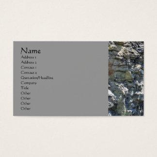 Cartão de visita da fotografia da natureza da