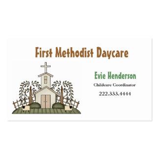 Cartão de visita da guarda da igreja