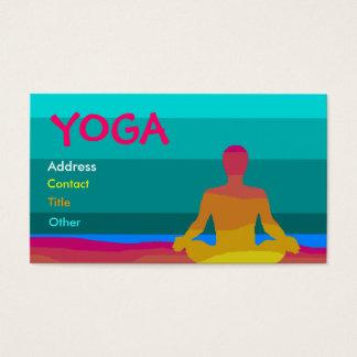 Cartão de visita da ioga - personalizado