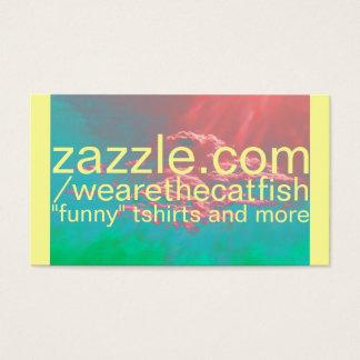 cartão de visita da loja do zazzle