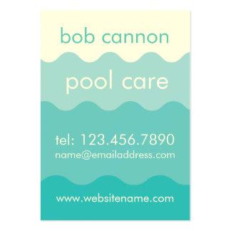 Cartão de visita da manutenção do cuidado da pisci