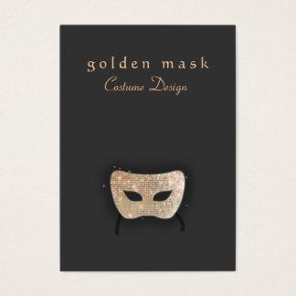 Cartão de visita da máscara do teatro do