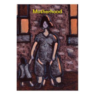 Cartão de visita da maternidade