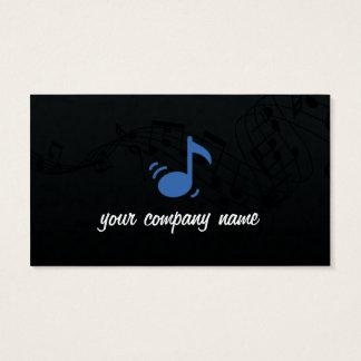 Cartão de visita da música e do músico