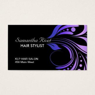 Cartão de visita da nomeação do cabeleireiro