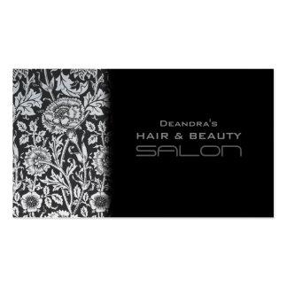 Cartão de visita da nomeação do salão de beleza da