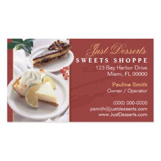 Cartão de visita da padaria