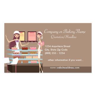 Cartão de visita da padaria loja de pastelaria 3