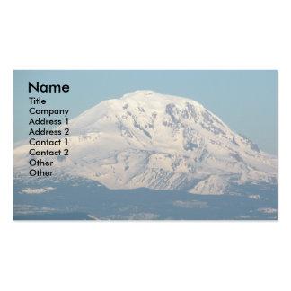 Cartão de visita da paisagem de Adams da montagem
