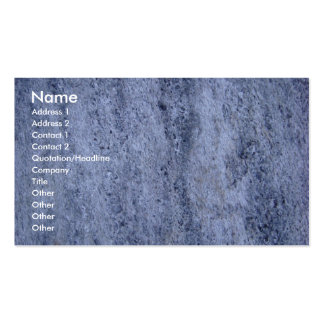 Cartão de visita da pedra de polimento do Pedicure