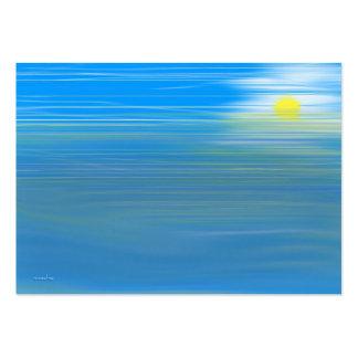 Cartão de visita da piscina da maré