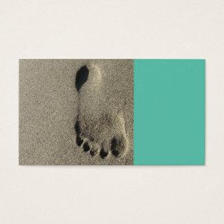cartão de visita da praia