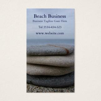 Cartão de visita da praia dos seixos