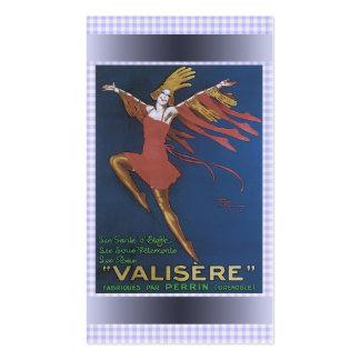 Cartão de visita da propaganda do vintage