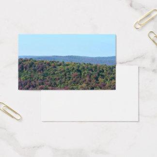 Cartão de visita da queda