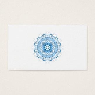 Cartão de visita da simplicidade