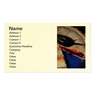 Cartão de visita da torta da cereja