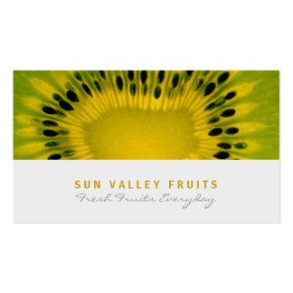 Cartão de visita da venda por atacado da fruta do