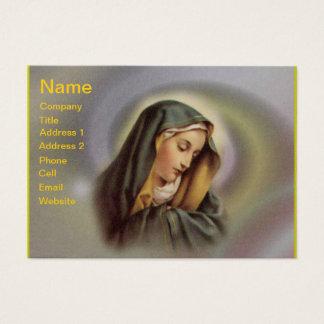 Cartão de visita da Virgem Maria 2