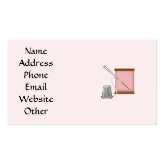 Cartão de visita das artes e dos artesanatos da