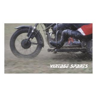 Cartão de visita das motocicletas dos esportes