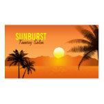 Cartão de visita das palmeiras