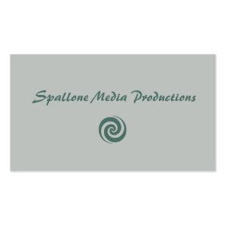 Cartão de visita das produções dos meios de Spallo