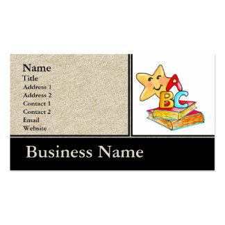 Cartão de visita de ABC
