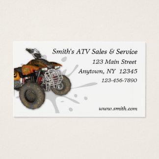 Cartão de visita de ATV