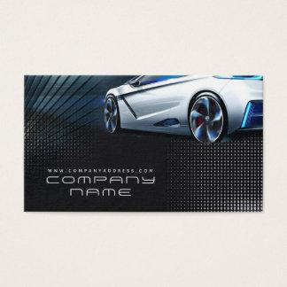 Cartão de visita de Automotriz Mecânico Empresa