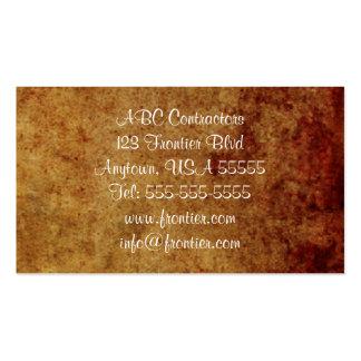 Cartão de visita de Brown