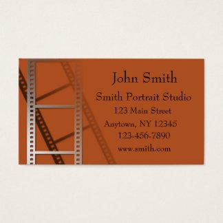 Cartão de visita de cobre do fotógrafo