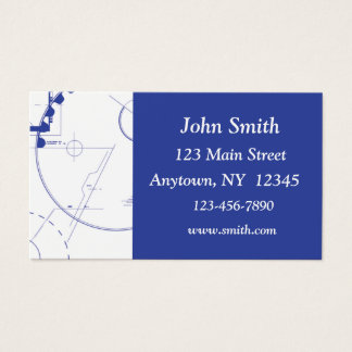 Cartão de visita de esboço