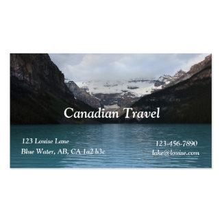 Cartão de visita de Lake Louise