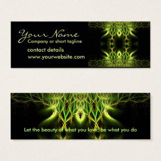 Cartão de visita de Lotus do Fractal