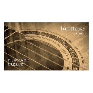 Cartão de visita de Luthier