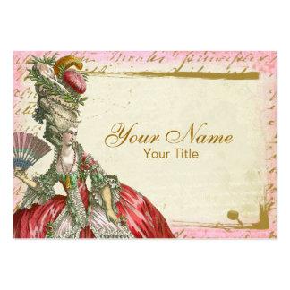 Cartão de visita de Marie Antoinette Versalhes