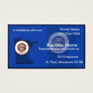 Cartão de visita de Minnesota
