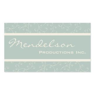 Cartão de visita de Moderno Produção Empresa