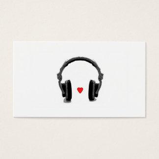Cartão de visita de Music Store