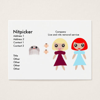 Cartão de visita de NitPicker