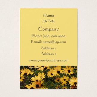 Cartão de visita de olhos pretos de Susans
