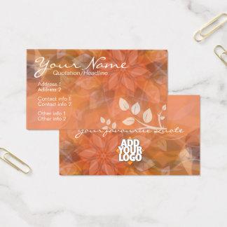 Cartão de visita de OrangeSheer