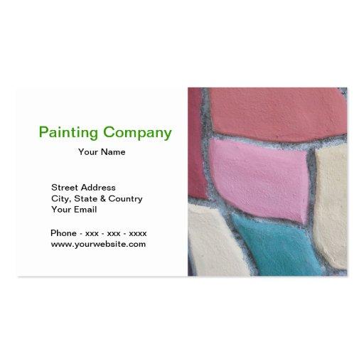 Cartão de visita de Pintura Empresa