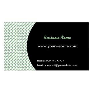 Cartão de visita de Polkadots
