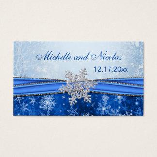 Cartão de visita de prata do Tag do favor do