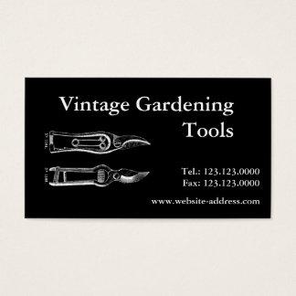 Cartão de visita de Pruners B das ferramentas de