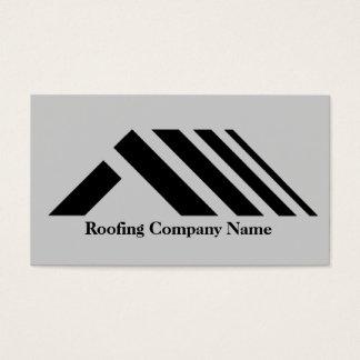 Cartão de visita de Telhado Empresa