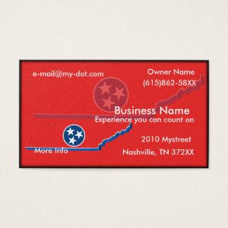 Cartão de visita de Tennessee