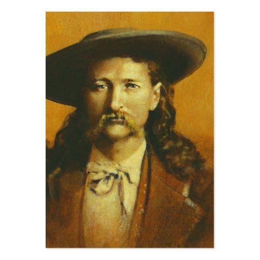 Cartão de visita de Wild Bill Hickok ACEO
